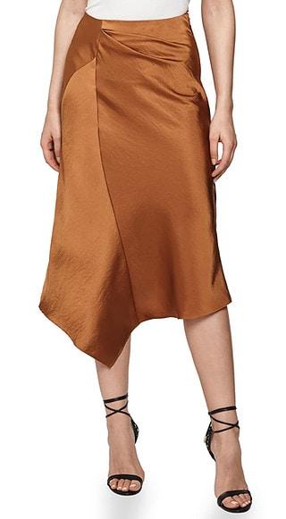 asymmetrical skirt | 40plusstyle.com