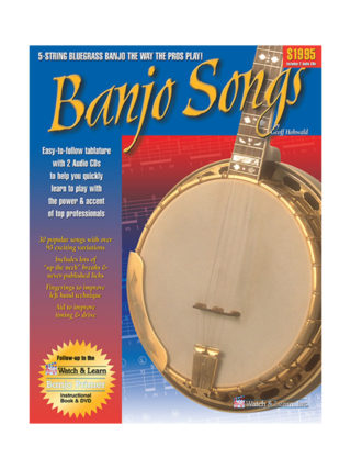 banjo songs book by geoff hohwald