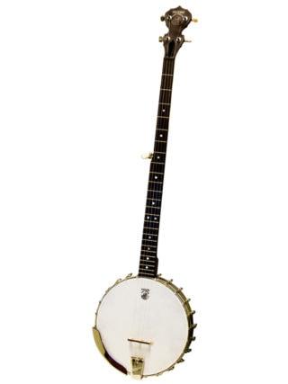 deering boston long neck banjo