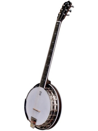 deering maple blossom 6 string banjo
