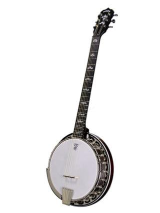 deering eagle ii 6 string banjo
