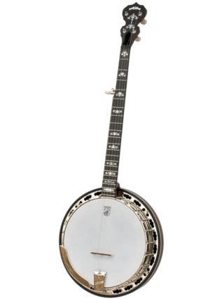 left handed deering sierra 5 string banjo