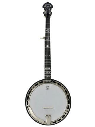 deering rustic wreath banjo