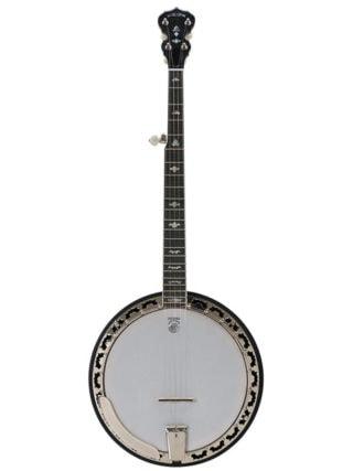 deering white lotus banjo