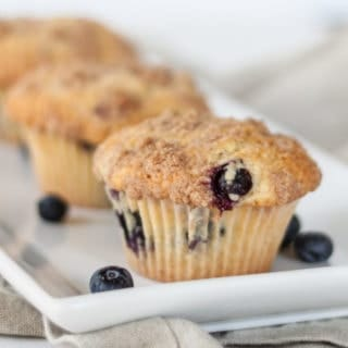 Blueberry Muffins Featured