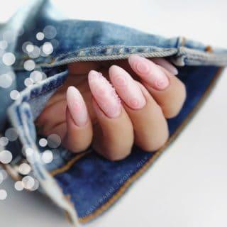 pastelowe paznokcie hybrydowe