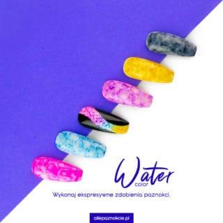 Zdobienia, które robią się same - efekt water color 1
