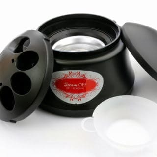 urządzenie parowe do zdejmowania lakieru z paznokci