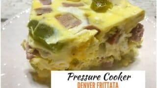 Pressure Cooker Denver Frittata Recipe
