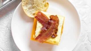 Freezer Friendly Breakfast Egg Sandwiches