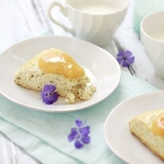 Buttermilk Poppy Seed Citrus Scones