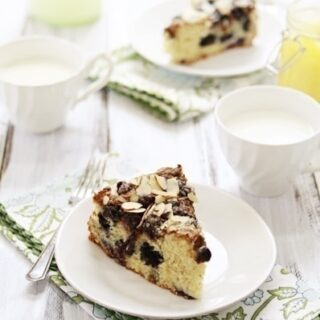 Blueberry Lemon Curd Coffee Cake