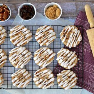 Gluten Free Cinnamon Roll Cookies