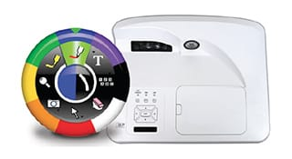 interactive video projector