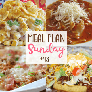 MEAL PLAN SUNDAY #93