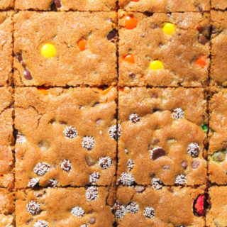 Movie Theater Candy Sheet Pan Cookies