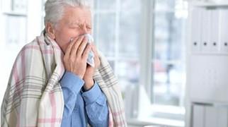 простуда у пожилого человека