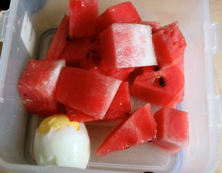 watermelon and egg diet