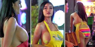 bar con cameriere nude