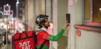 just eat lavoro dipendente rider