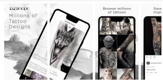 Best tattoo design apps for Android and iOS.