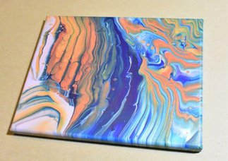 Day 25 Acrylic Pouring Color Theory Series