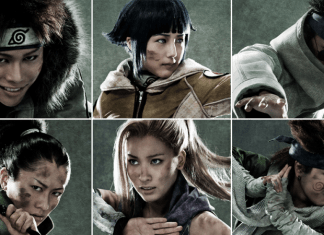 New 'Naruto' Live-Action Play Casts Naruto, Sasuke