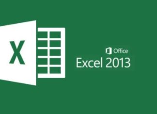 view in m.s excel 2013 in hindi