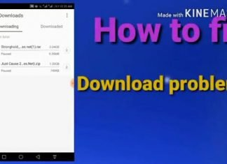 Fix uc browser download stuck | download problem 2019