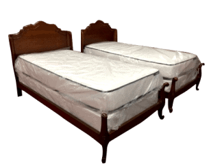 vintage twin beds