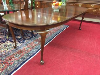 Kling Cherry Dining Table with Two Leaves