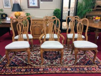 Pennsylvania House Oak Dining Chairs