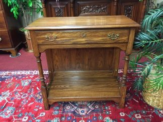 Pennsylvania House Solid Oak Hall Stand