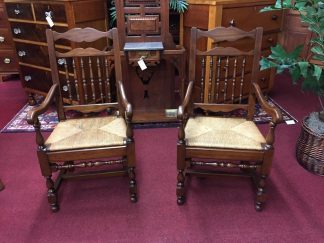 Pennsylvania House Country Style Arm Chairs