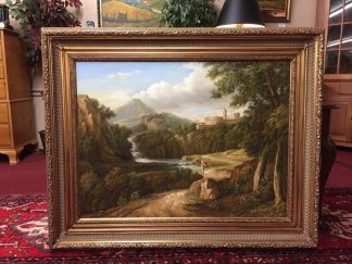 Traditional Oil on Canvas Landscape