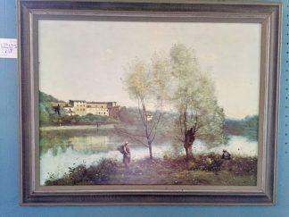 """Jean Baptiste Corot """"Ville d'Avray"""" Giclee"""