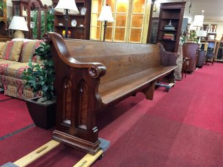 Antique Twelve Foot Church Pew