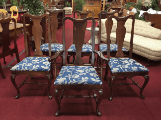 Baumritter Queen Anne Dining Chairs