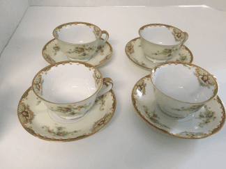 Empress China Tea Cups and Saucers