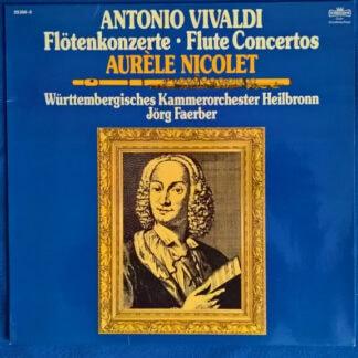 Antonio Vivaldi, Aurèle Nicolet, Württembergisches Kammerorchester Heilbronn*, Jörg Faerber - Flötenkonzerte • Flute Concertos (LP, Album, Club)