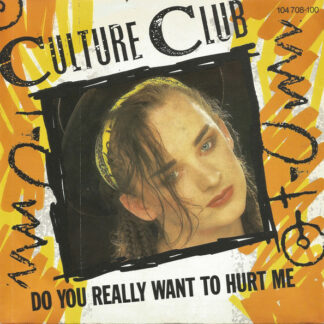 "Culture Club - Do You Really Want To Hurt Me (7"", Single, Inj)"
