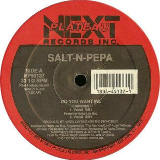 "Salt 'N' Pepa - Do You Want Me (12"")"