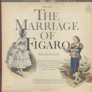 Mozart*, Carlo Maria Giulini, Philharmonia Orchestra - The Marriage Of Figaro (Highlights) (LP)