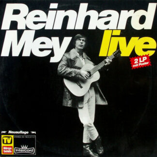Reinhard Mey - Live (2xLP, Album, RE, Red)