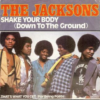 """The Jacksons - Shake Your Body (Down To The Ground) (7"""", Single)"""