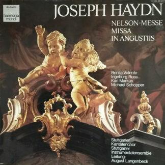 Joseph Haydn / Stuttgarter Kantatenchor / August Langenbeck - Nelson-Messe: Missa In Angustiis (LP, RE, Gat)