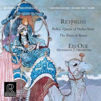 Ottorino Respighi, Minnesota Orchestra, Eiji Oue - Belkis, Queen Of Sheba Suite / The Pines Of Rome (LP, Album, 200)