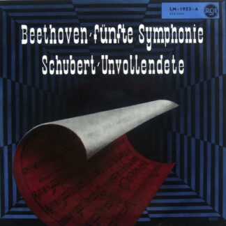 "Beethoven*, Schubert*, Charles Munch, Boston Symphony Orchestra - Symphony No.5 in C Minor / Symphony No.8 ""Unfinished"" (LP, Album, Mono)"