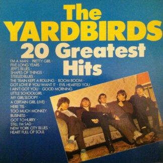The Yardbirds - 20 Greatest Hits Of The Yardbirds (LP, Comp)