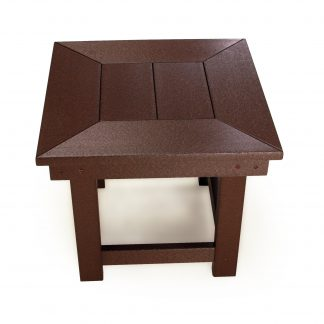 Durawood Deep Seating Side Table - DSST-K - Chocolate (view 2)